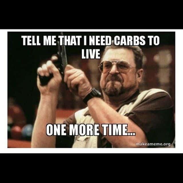 Keto Diet Meme when hangry