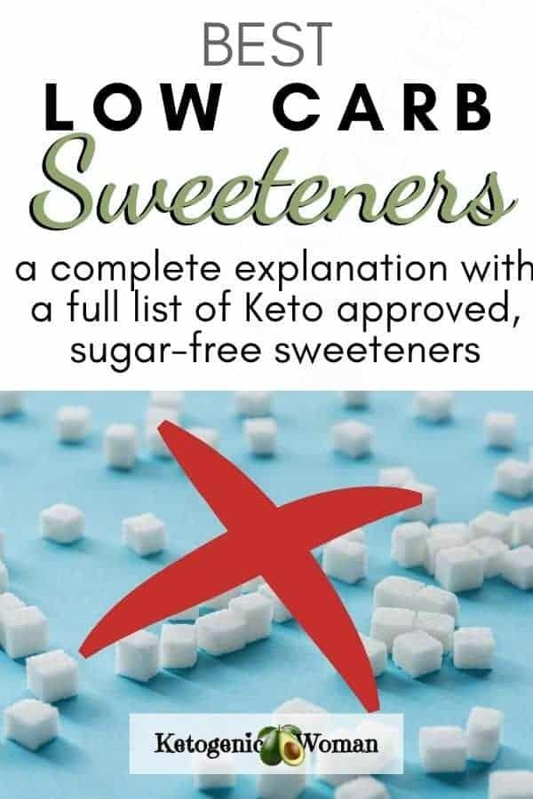 Alternative low carb sweeteners