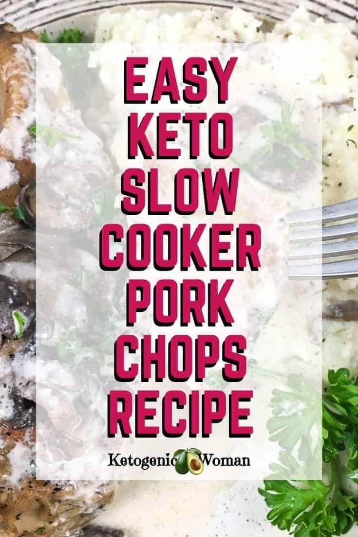 Easy Keto Slow Cooker Pork Chops Recipe