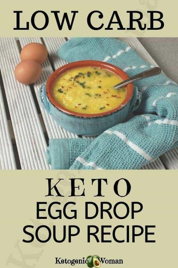 Keto Egg Drop Soup