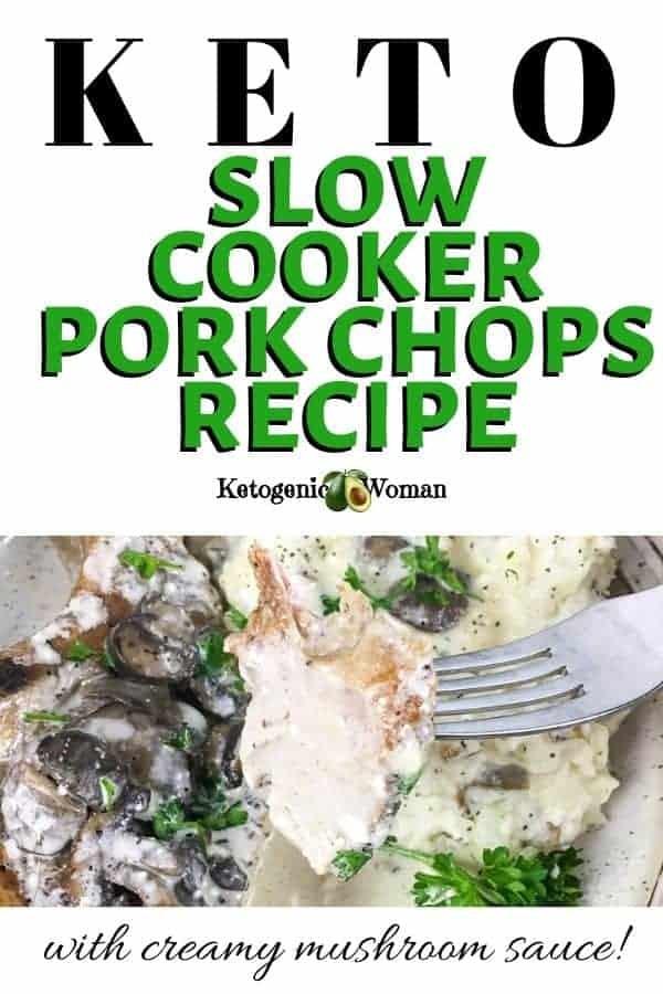 Keto Slow Cooker Pork Chops Recipe
