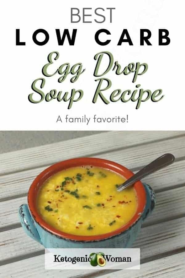 Low Carb Egg Drop Soup