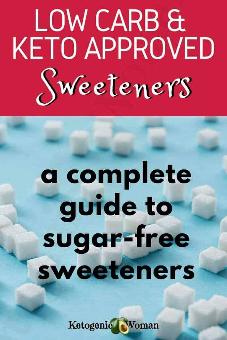 Low carb sweeteners