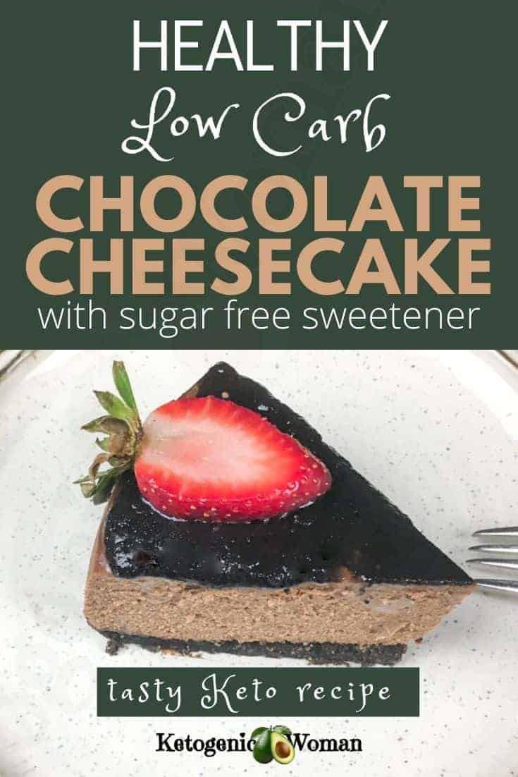Keto Instant Pot Chocolate Cheesecake Recipe (1)