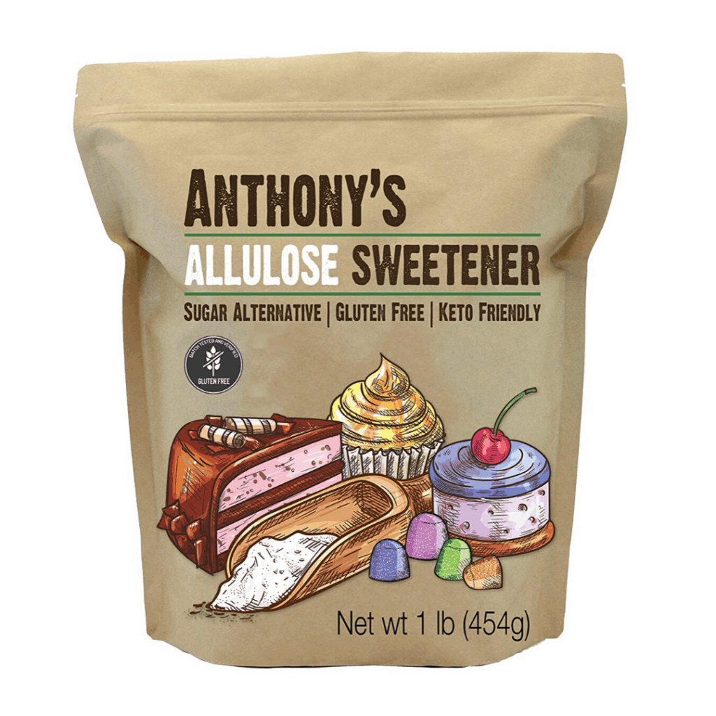 bag of sweetener