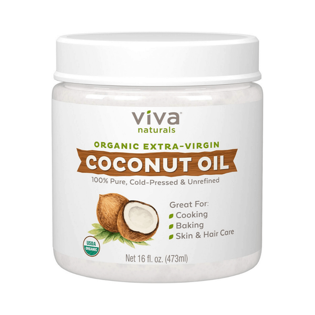 can of coconut oil