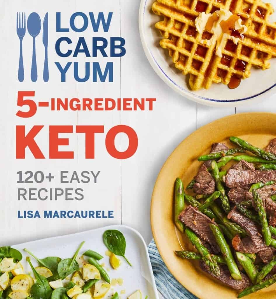 Low Carb Yum 5 Ingredient Keto book cover