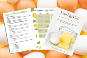 pic of egg fast menu