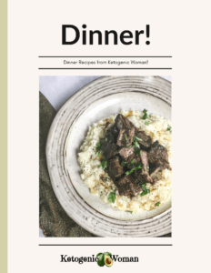 Keto Dinner eBook cover