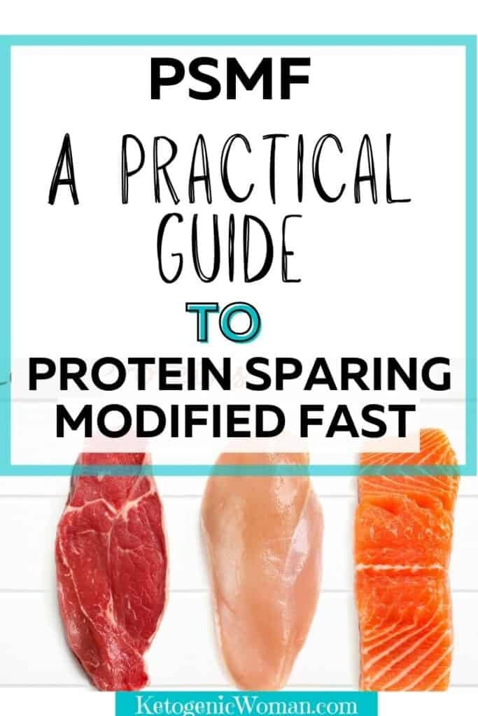 Lean Proteins on white background